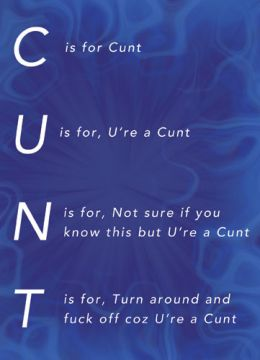 Coz U're A Cunt